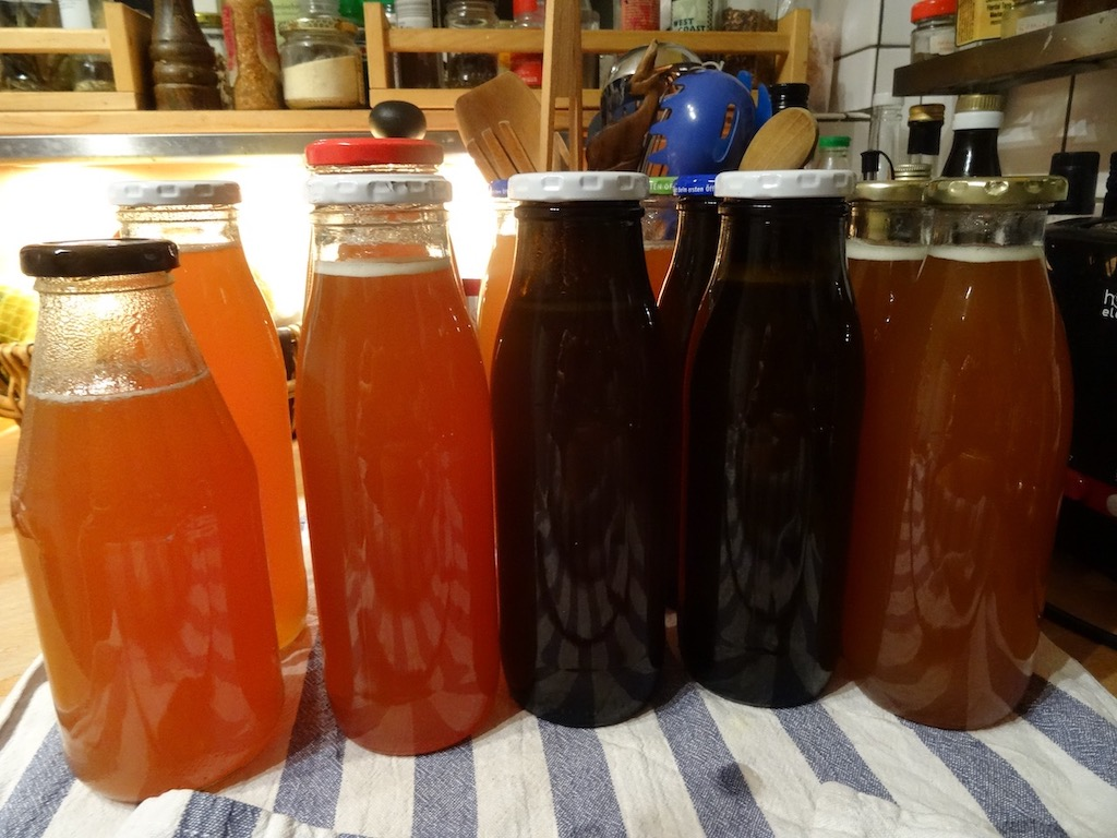 bottled rosehip syrup