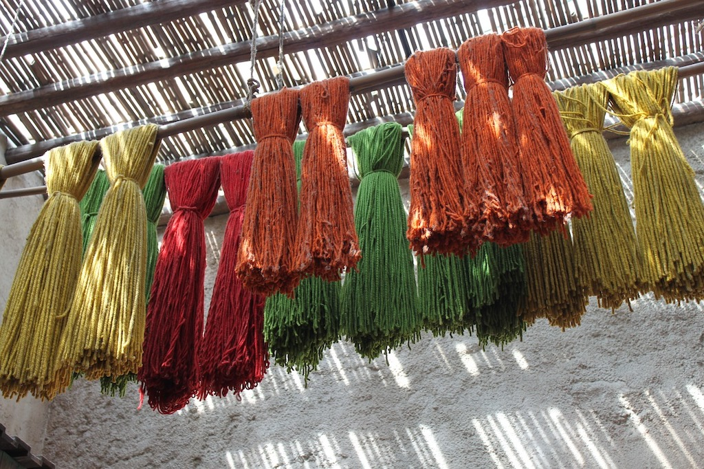 dyeing with natural colours